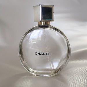 Chanel empty bottle